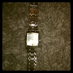 Elgin watch mens diamond